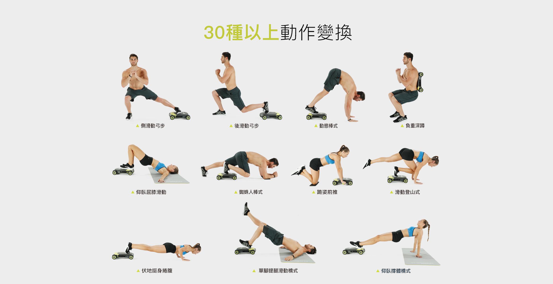 Slide Fit健身滑板